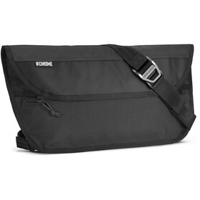 Chrome Simple Messenger Bag black